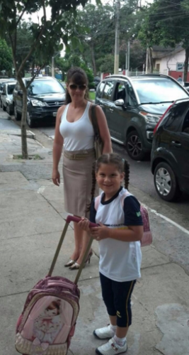 Lindalva (Mãe) e Sophia