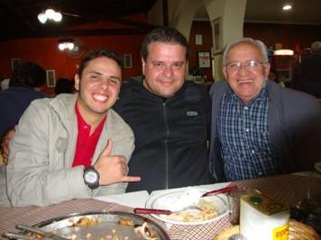 Dodo, Felipe (sobrinho) Rui Barboza (pai)