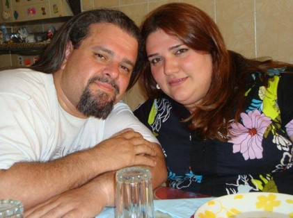 Dodo e Adriana (esposa)